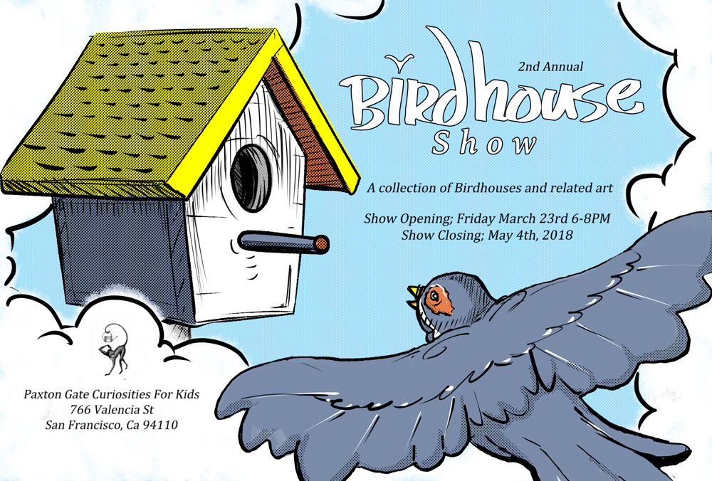 The Birdhouse Show - Flyer